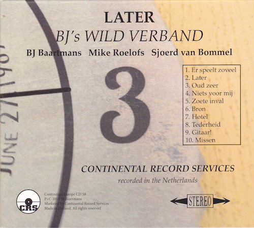 bj's wild verband - later
