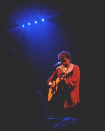 bob dylan in muziekcentrum vredenburg (1995)