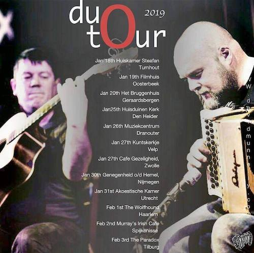Duo Mc Gowan-Munnelly, tour 2019