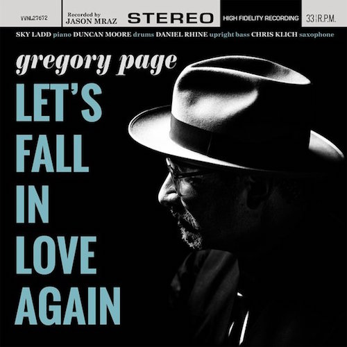 gregory page - let's fall in love again