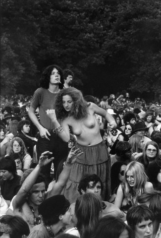 hippies in rotterdam in 1970