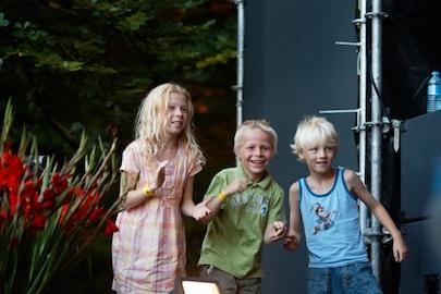 jeugdige bezoekers op folkwoods 2009, foto ronald rietman
