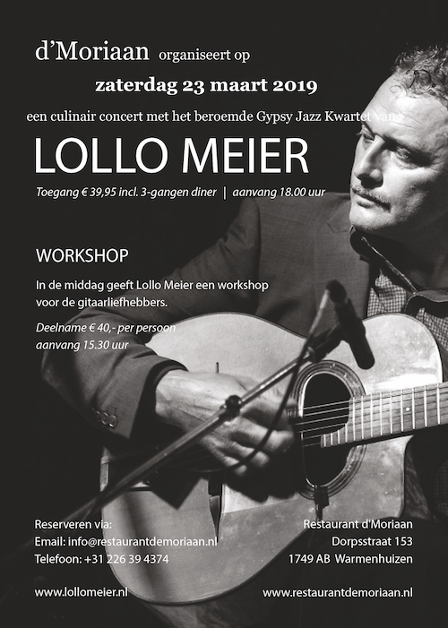 lollo meier optreden en workshop 2019 affiche