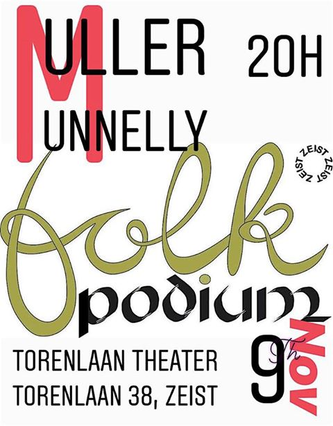 Duo Muller & Munnelly Folkpodium Zeist 9 november 2018