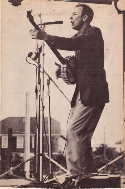pete seeger in de jaren '50