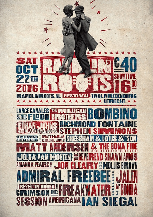 ramblin' roots affiche 2016