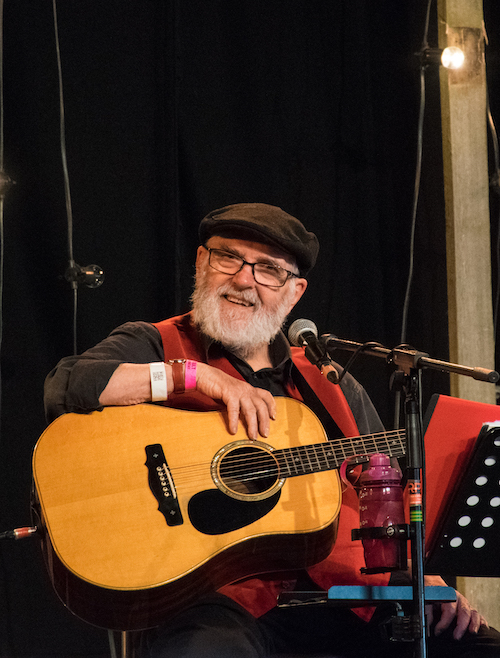 Roy Bailey op Towersey Festival 2018, foto Tim Packer
