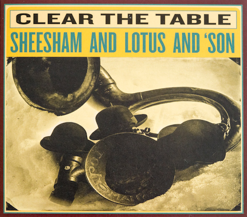 sheesham lotus and son - clear the table